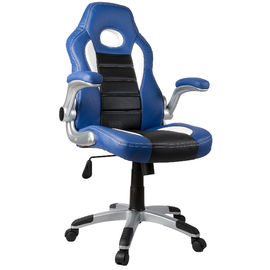 PU Leather Material Adjustable Office Chair With Wheels Various Color